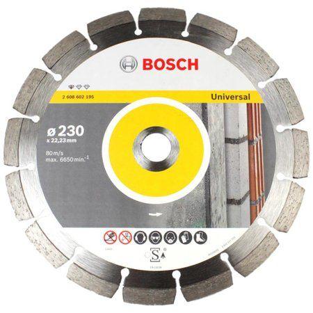 Disco De Corte Diamantado Segmentado 230 Mm 9 Pol. Bosch