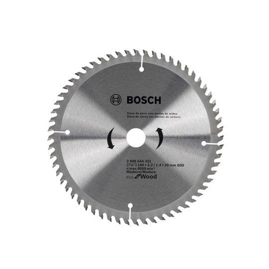 Disco De Serra 7 ¼ Em Aço Com Dentes Widea 60 D Bosch