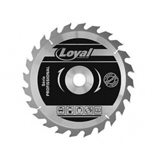 Disco De Serra Circular 300mm Para Madeira - 24 Dentes Loyal