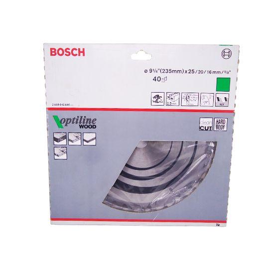 Disco de Serra Circular – 9 ¼ (235mm) – 40 Dentes - Bosch