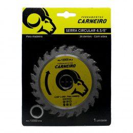 Disco de Serra Circular de Wídea 110mm - 24 Dentes -  CARNEIRO