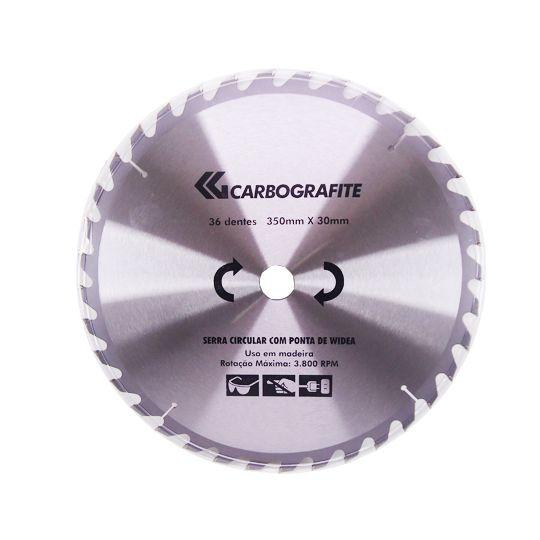 Disco de Serra com ponta Widea – 36 Dentes - Carbografite