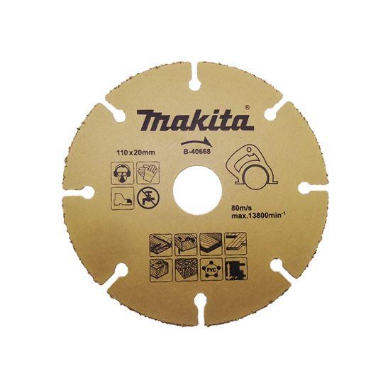 Disco de Serra Mármore P/ Cortar Madeira - B-40668 - Makita