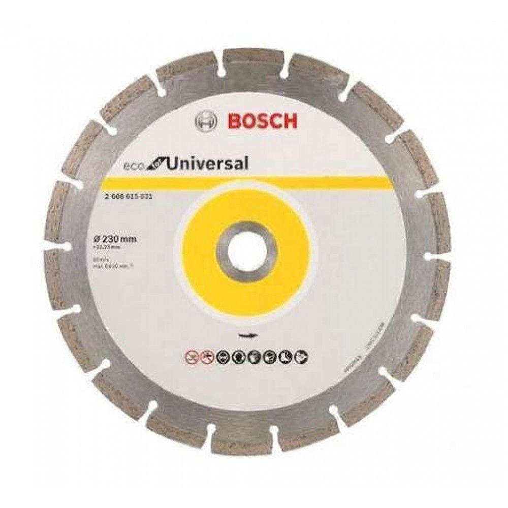 Disco Diamantado 230mm Universal Eco 608615031 – Bosch