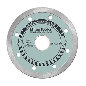 Disco Diamantado Braskoki 110mm Porcelanato