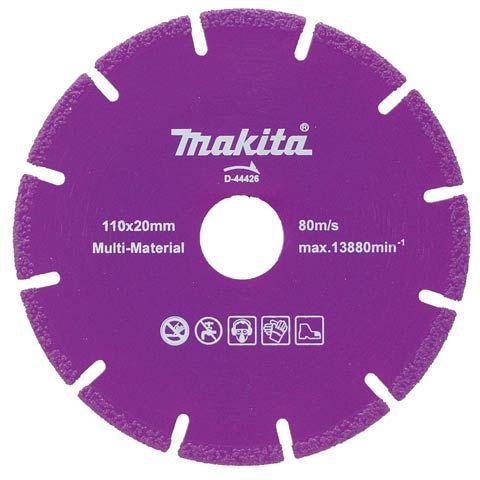 Disco Diamantado Multiuso Material D-44426 Makita