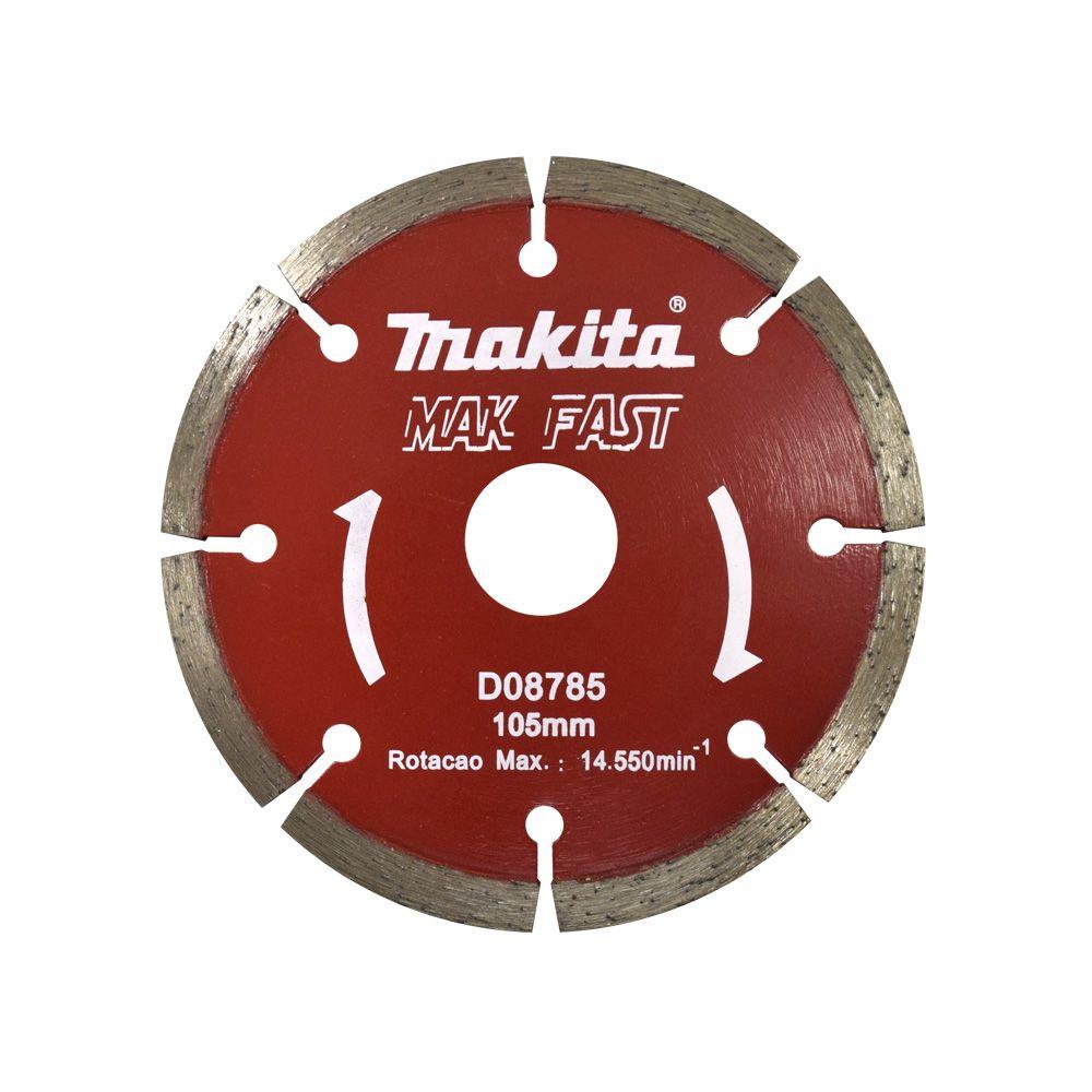 Disco Diamantado Segmentado 105 Mm- Makita D08785 Original