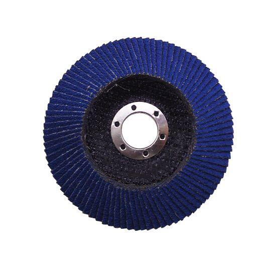 Disco Flap Pro. 115,0 x 22,0 mm Grãos 50, 60, 80 ou 120 - Alcar