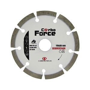 Disco Segmentado Carbo Force  110mm Carborundum