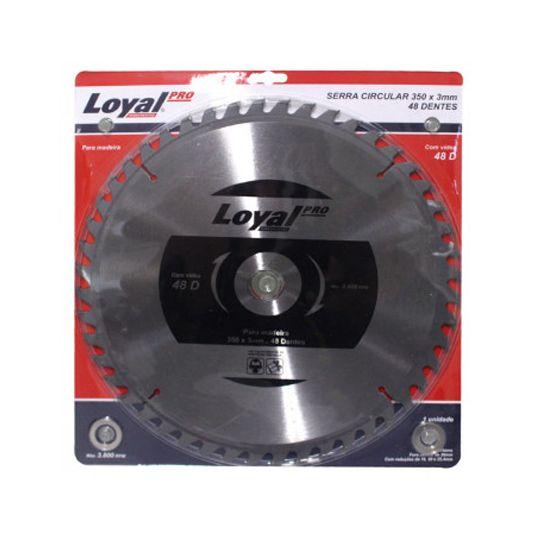 Disco Serra Circular 350mm X 3mm 48 Dentes Loyal