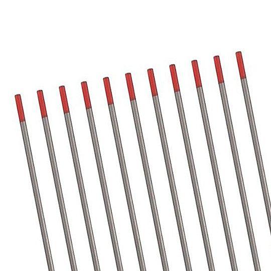 Eletrodo de Tungstênio com 2 por cento de Tório 1.6mm x 150mm