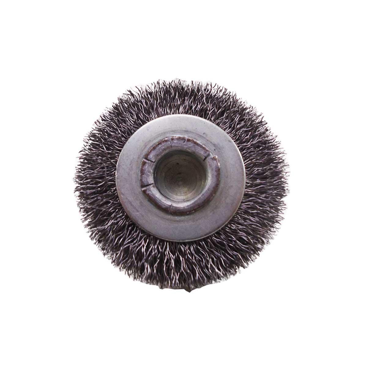 Escova de Aço Circular Abrasfer 50 X 13mm C/ Haste