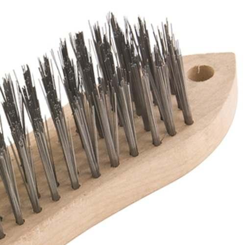 Escova manual sem cabo, com cepa de madeira, VONDER