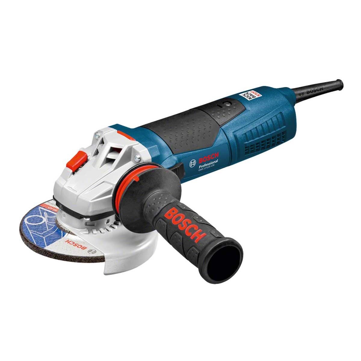 "Esmerilhadeira 5"" Gws 17-125 Inox C/ Controle Velocidade - Bosch"