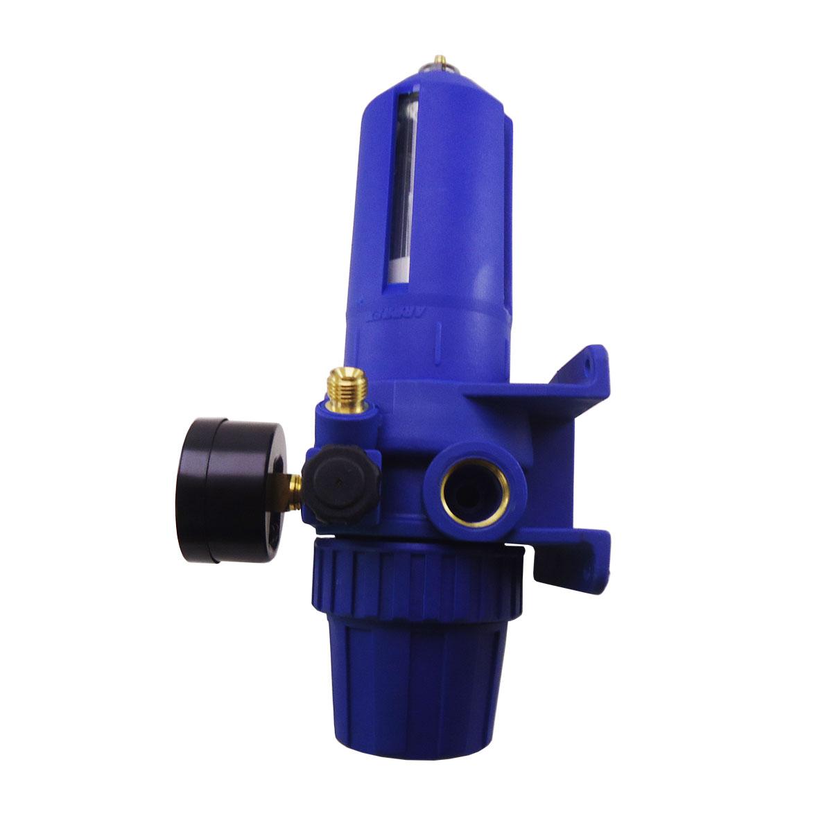 Filtro de ar regulador de pressão - CENTURIUM - c/ 2 saídas – Arprex