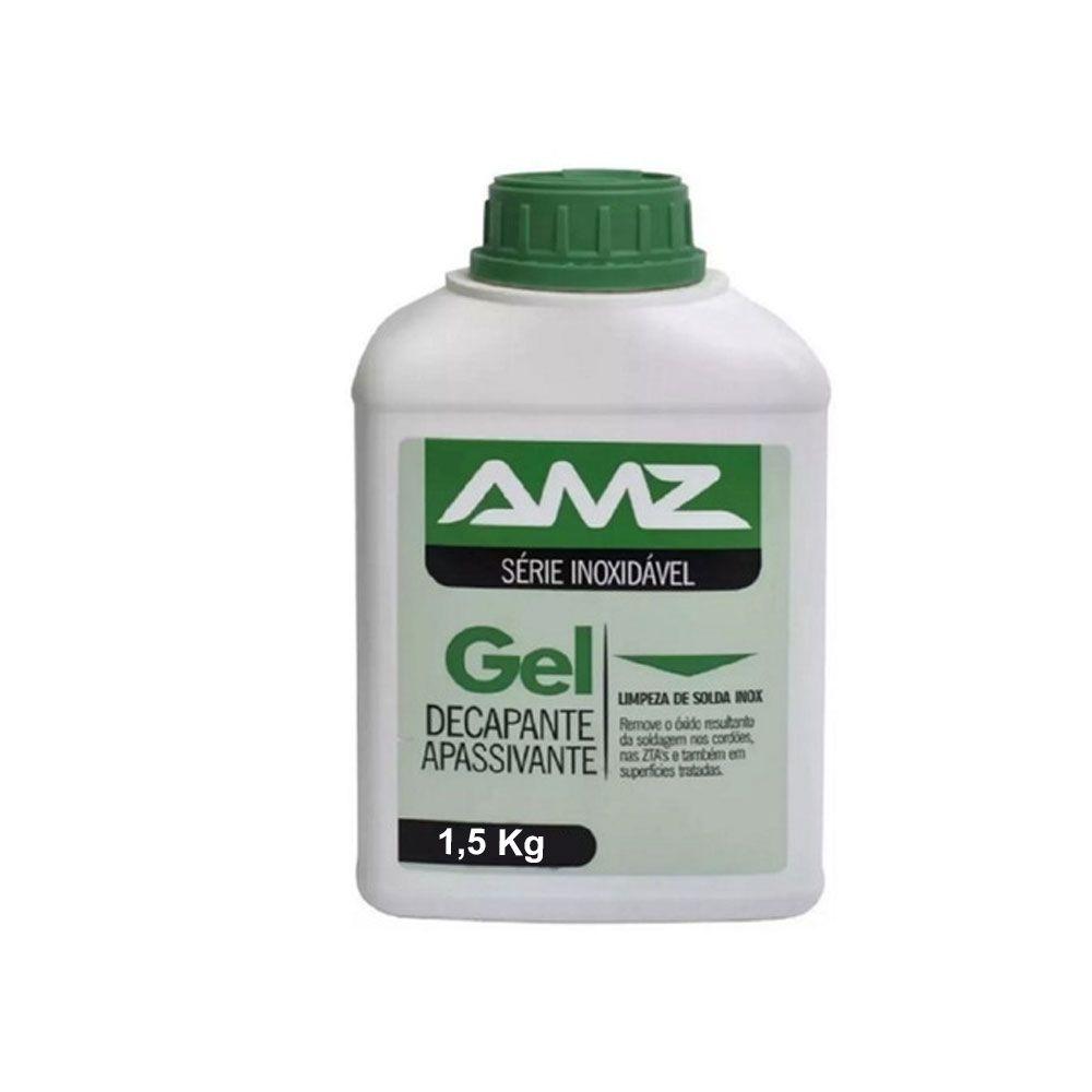 Gel  Decapante Apassivante – 1,5KG – Série Inoxidável - Amazônia