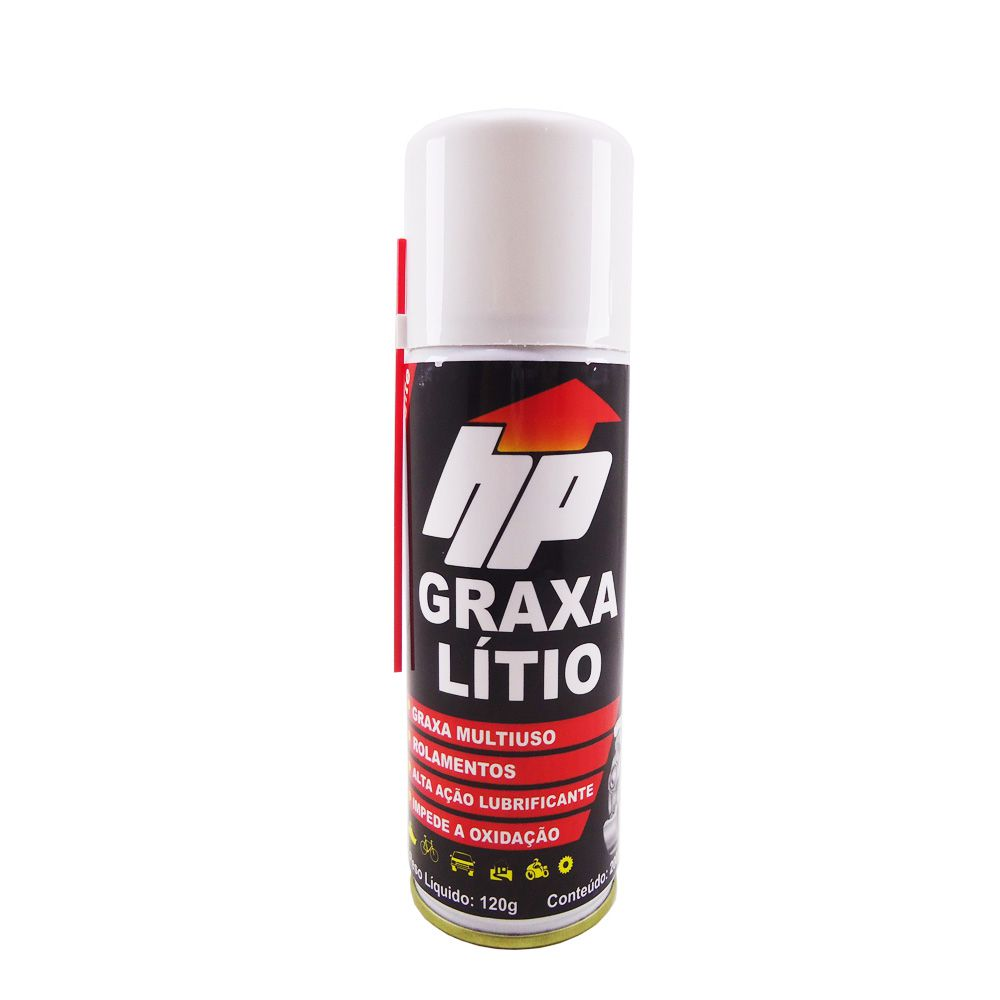 Graxa Spray Lítio - Hp 200 Ml