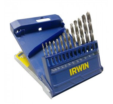 """Jogo De Broca Aço Rápido 1/16"""" A 1/4"""" 13 Peças Irwin"""