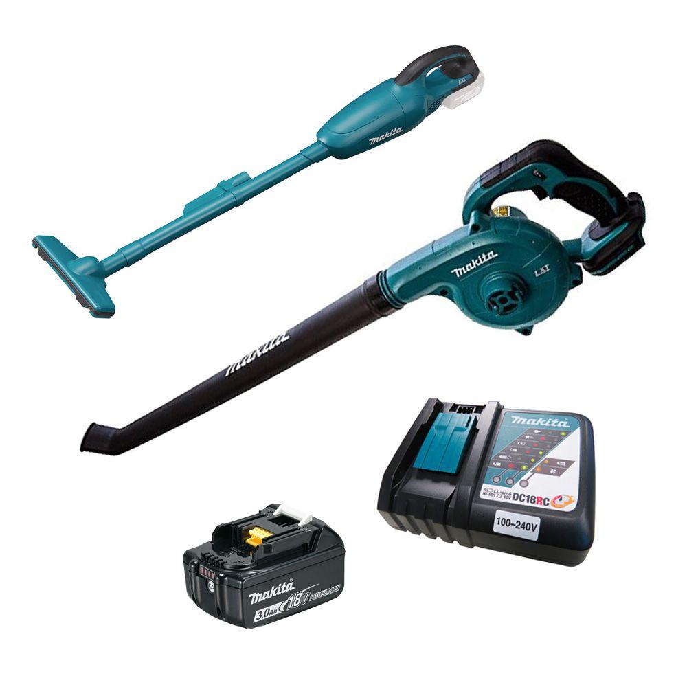 Kit a Bateria Aspirador/Soprador - Makita