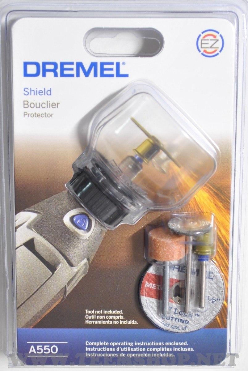 Kit Acoplamento Capa de Proteção c/ 4 Acessórios A550 - Dremel