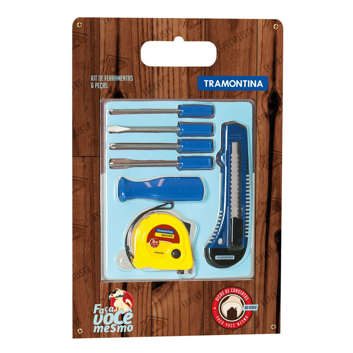 Kit de Ferramentas 6 Peças - Tramontina