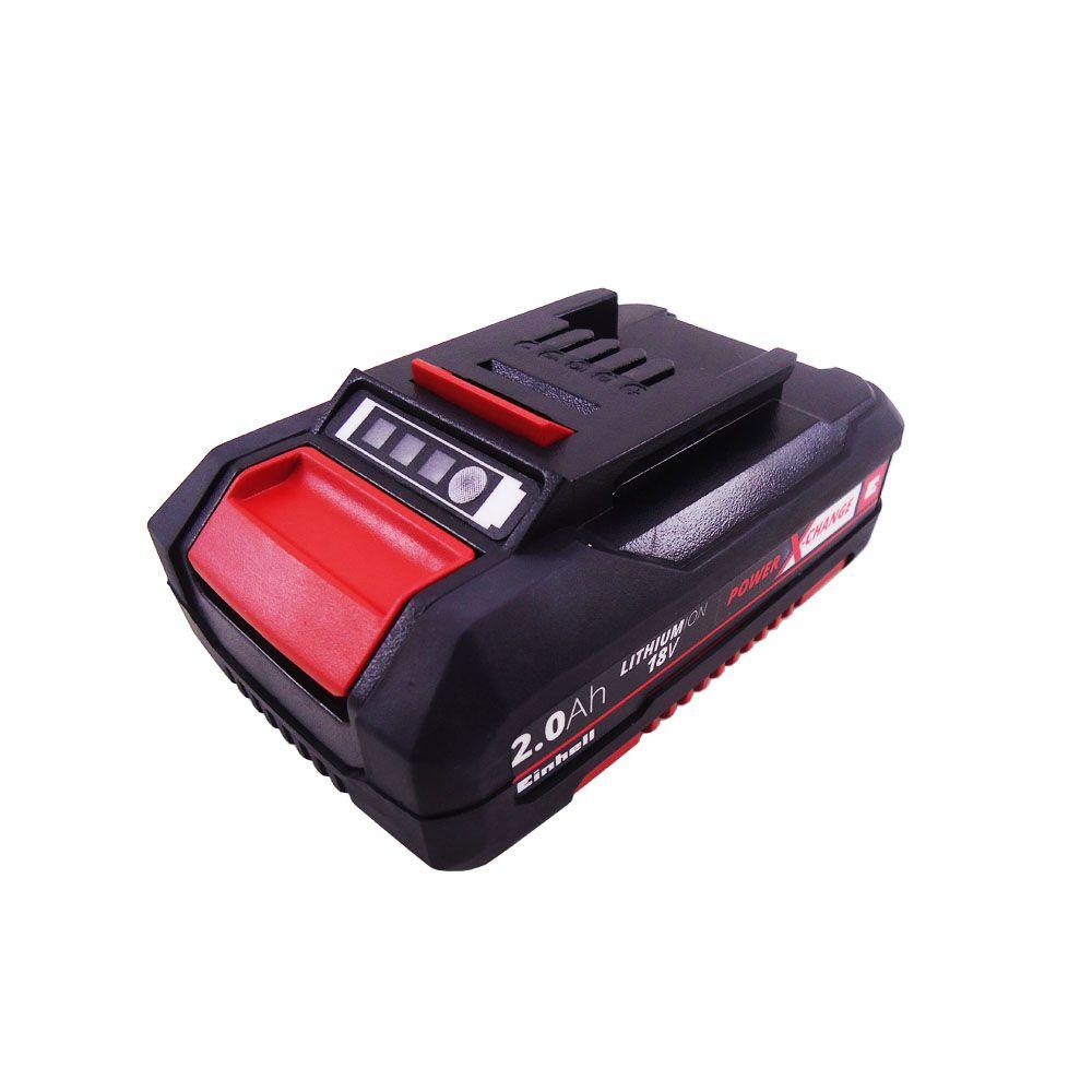 Kit PXC Carregador c/ 2.0 Ah Bateria 18V - Einhell Bivolt