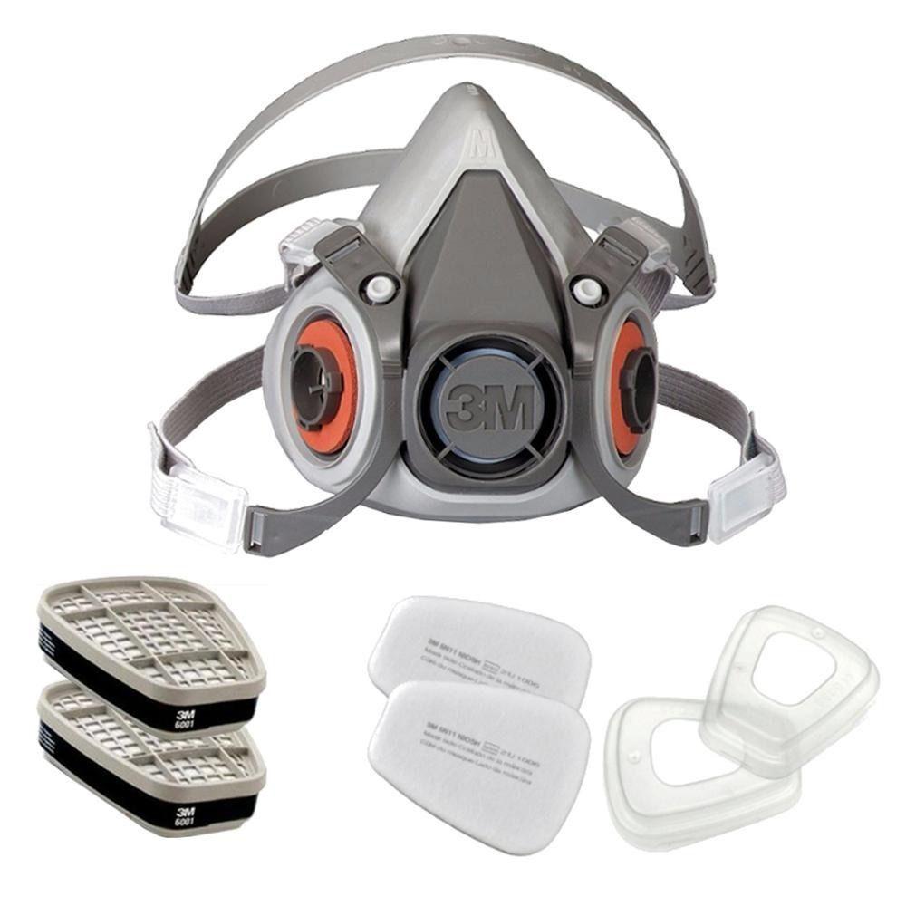 Kit Respirador 3m - Modelo 6200