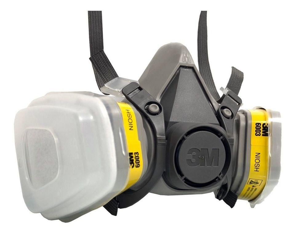 Kit Respirador Para Serviços Gerais 3m 6200