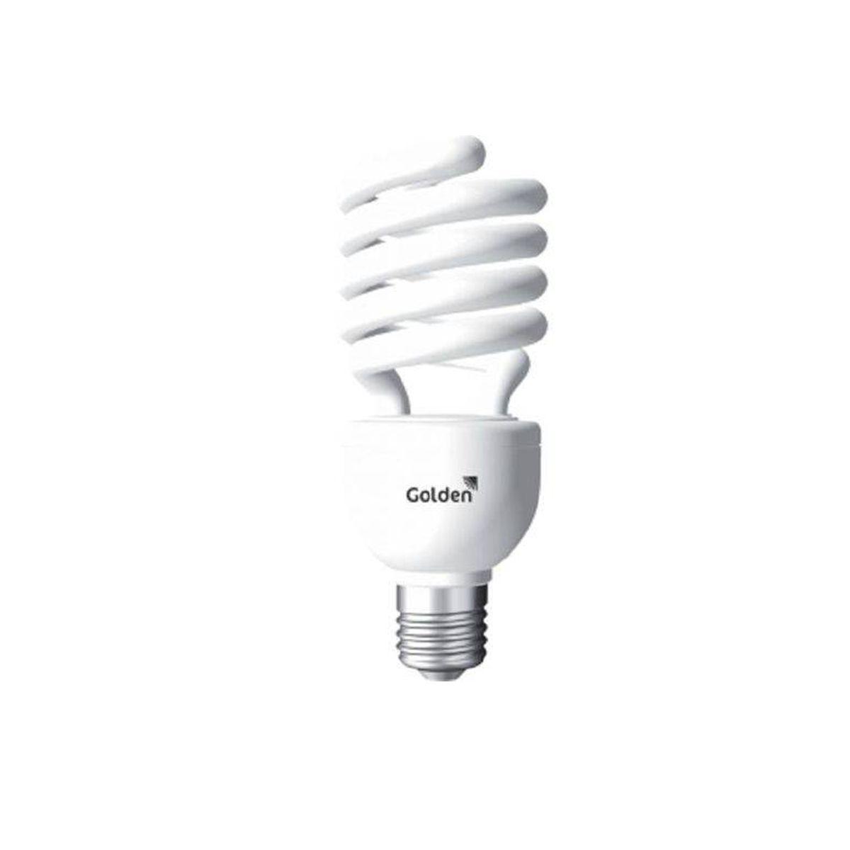 Lâmpada Fluorescente Espiral 85W 220V Golden