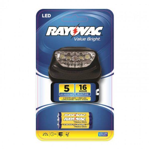 Lanterna 5 LED para Cabeça Mãos Livres BRS5LEDHLT-BB