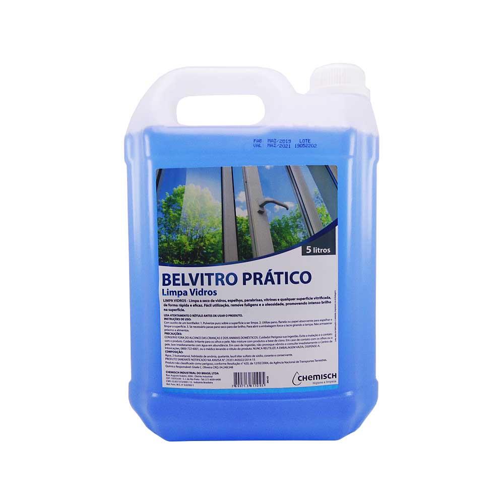 Limpa Vidros Belvitro Prático 5 Lts Chemisch