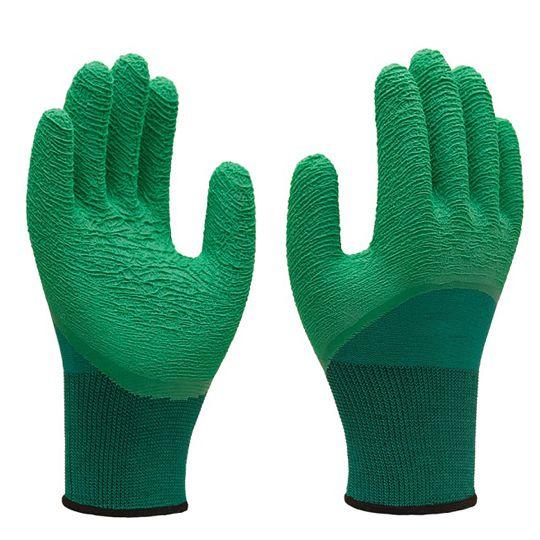 Luva Têxtil/Látex SS1009 - Super Safety