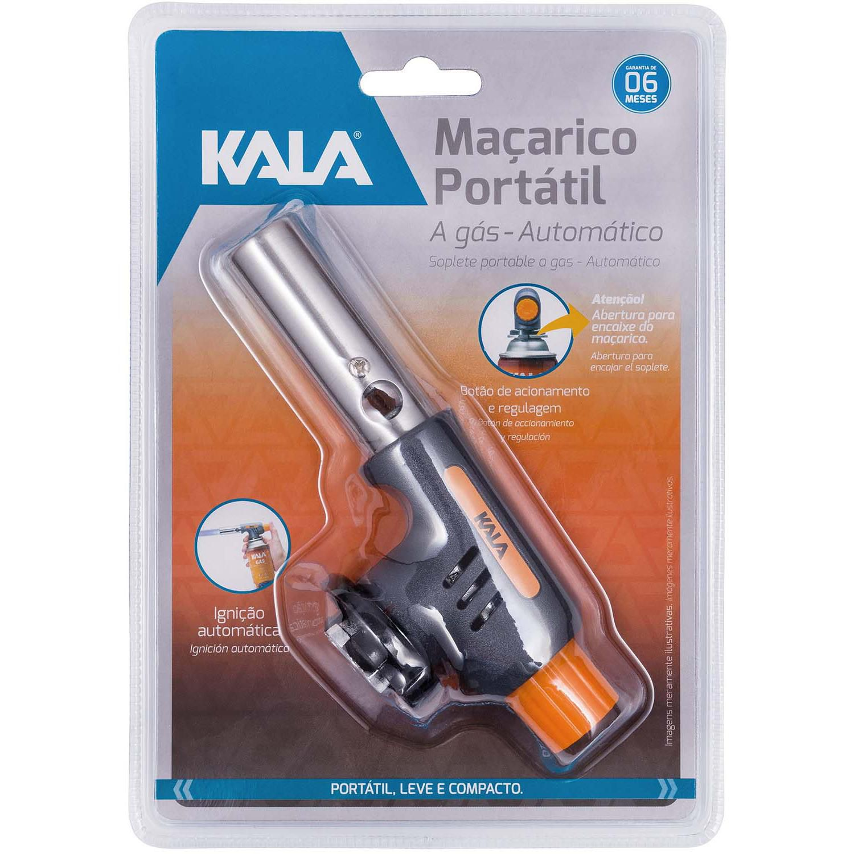 Maçarico Portátil a Gás Automático KALA