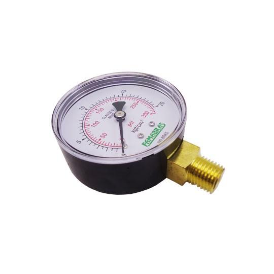 Manômetro de Pressão 300 LBS