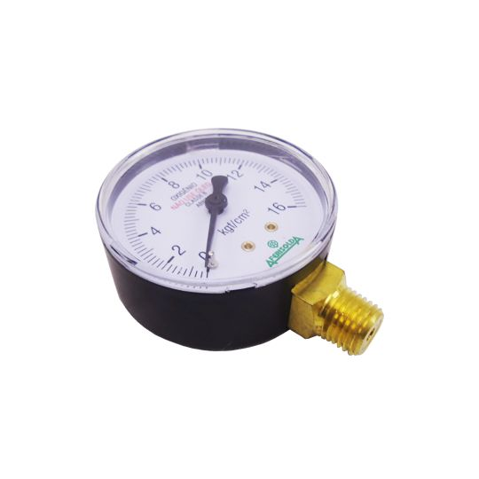 Manômetro para Regulador de Pressão Oxigênio Industrial