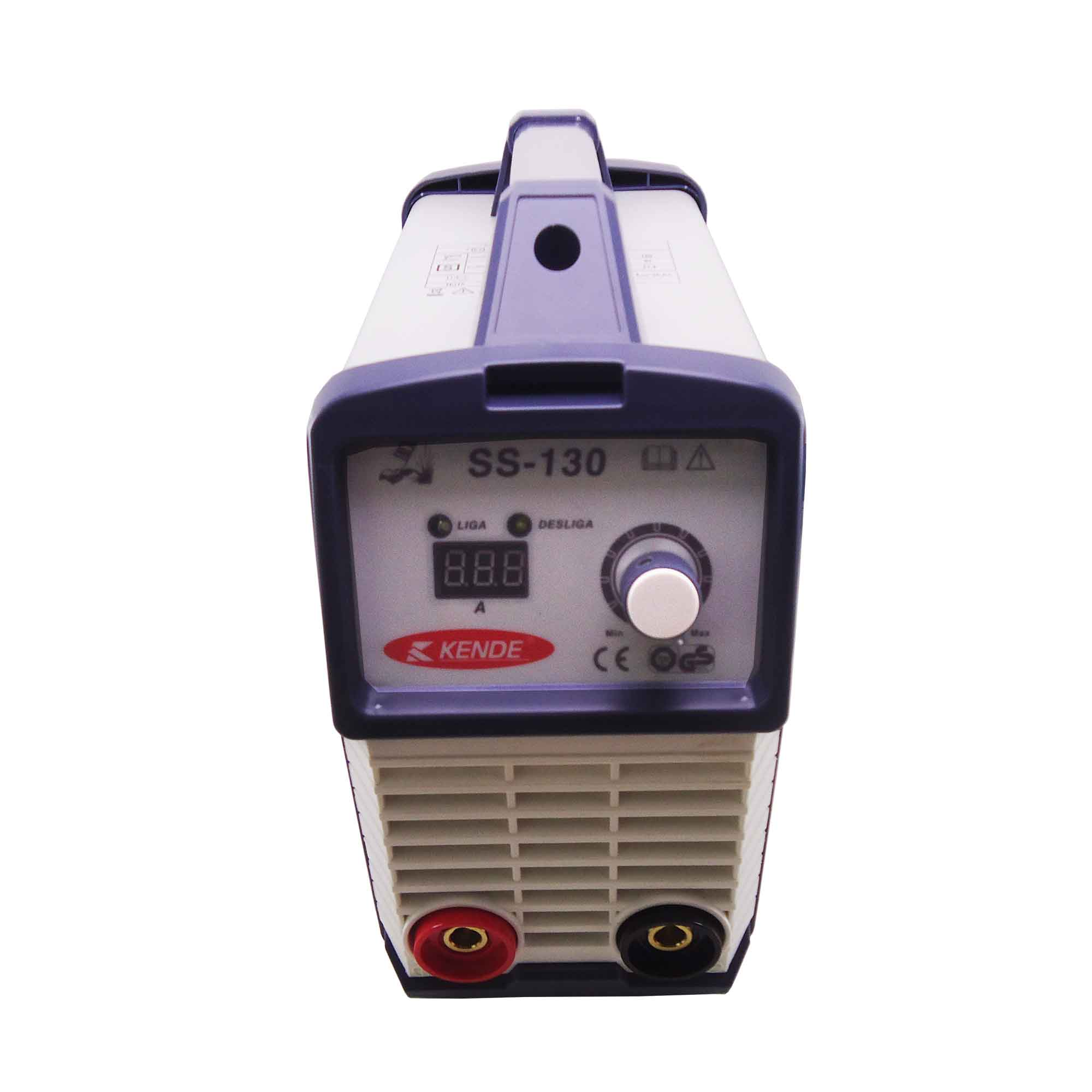 Maquina De Solda Inversora Ss-130 Kende 110v