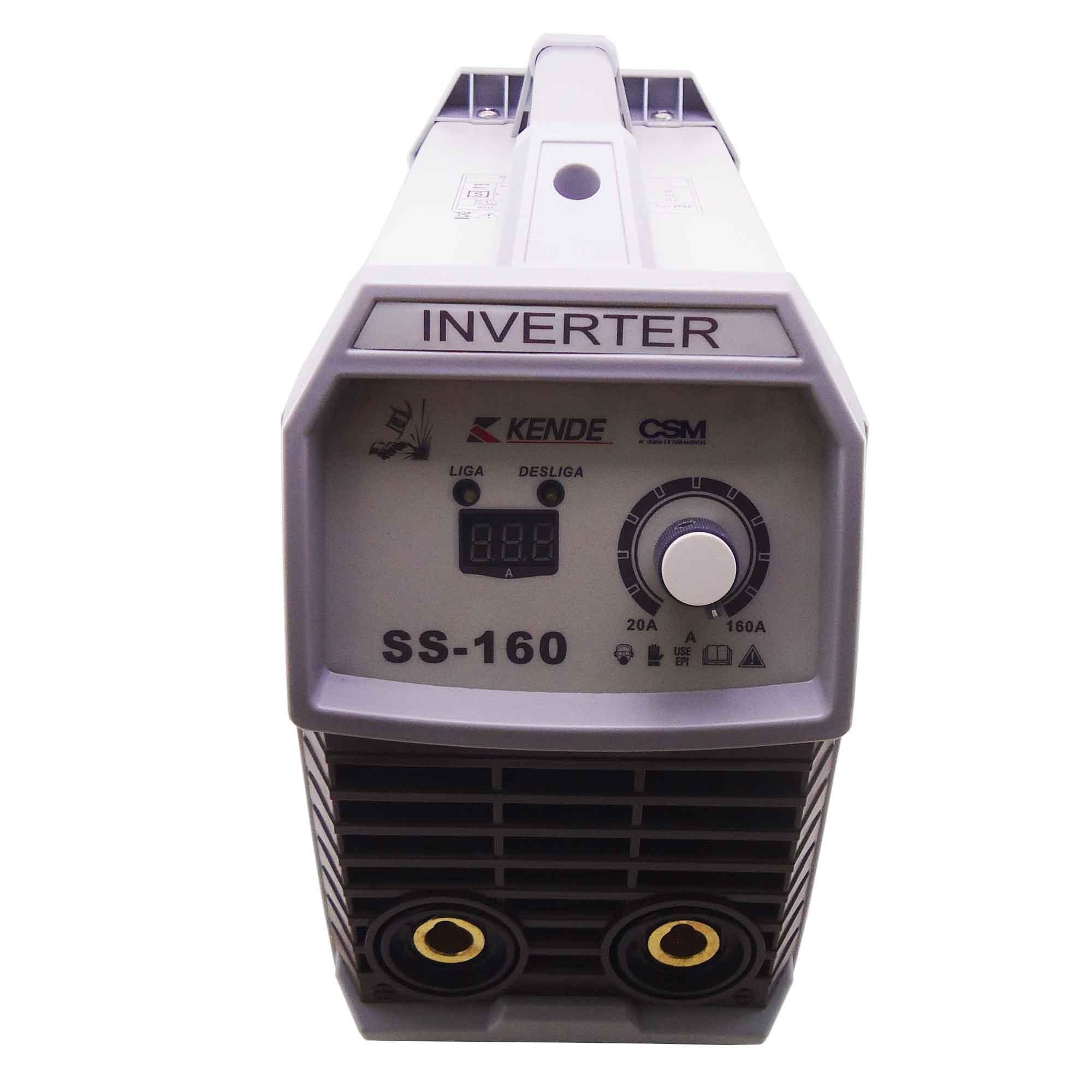 Maquina de Solda Inversora SS-160 Kende CSM 220V