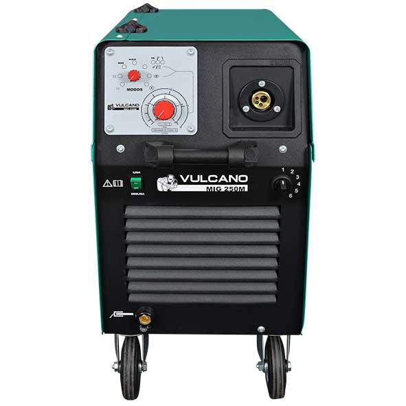 Máquina de Solda MIG/MAG 225A Monofásica - Vulcano MIG 250 M - BALMER