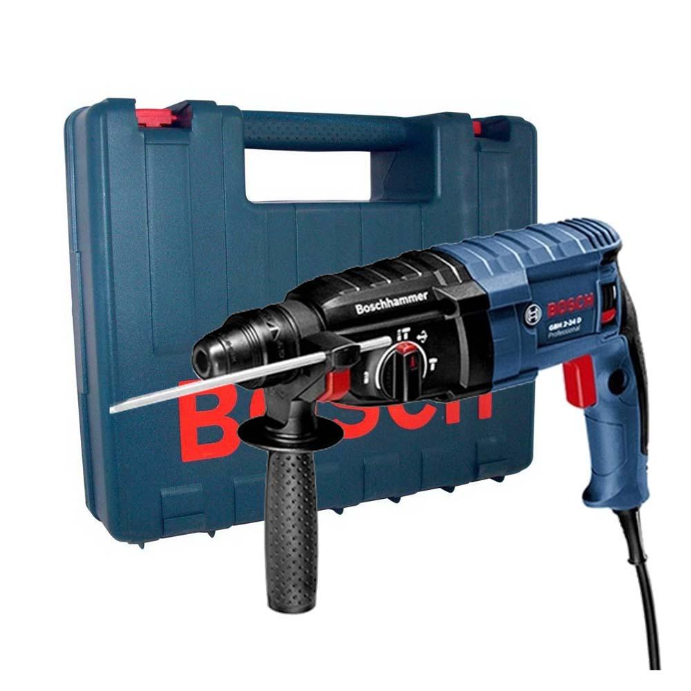Martelo Perfurador Rompedor Bosch GBH 2-24 D 820W 110V