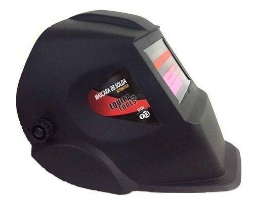 Máscara de Solda Automática Equipa Tools Din 9-13