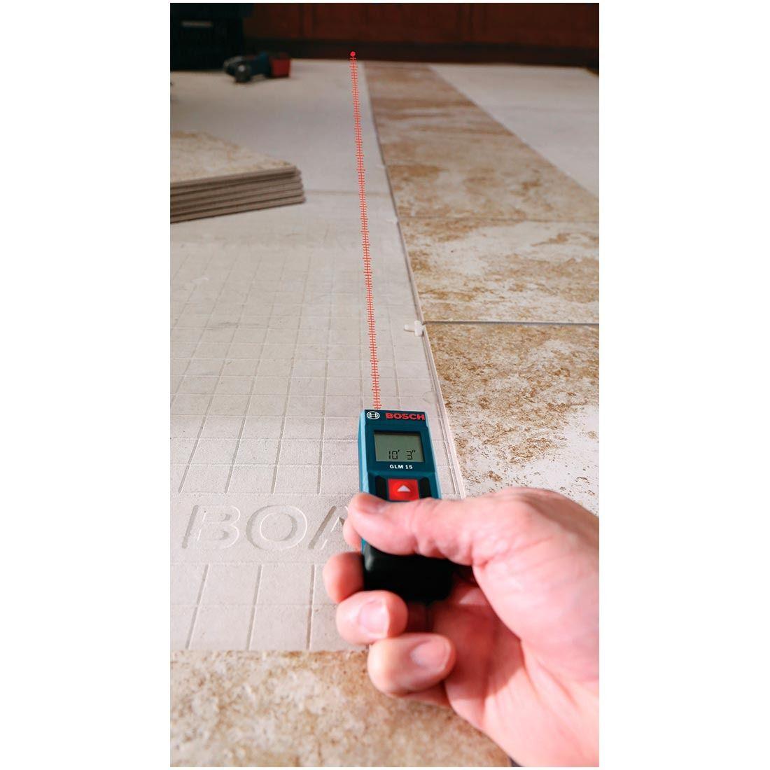 Medidor De Distância A Laser 15 Metros - Glm15 Bosch