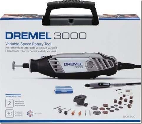 Micro Retífica Dremel 3000 C/ 32 Acessórios 220