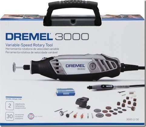 Micro Retífica Dremel 3000 C/ 32 Acessórios 110v