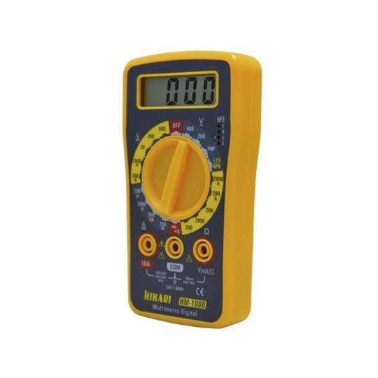 Multímetro Digital Hm-1000 - Hikari