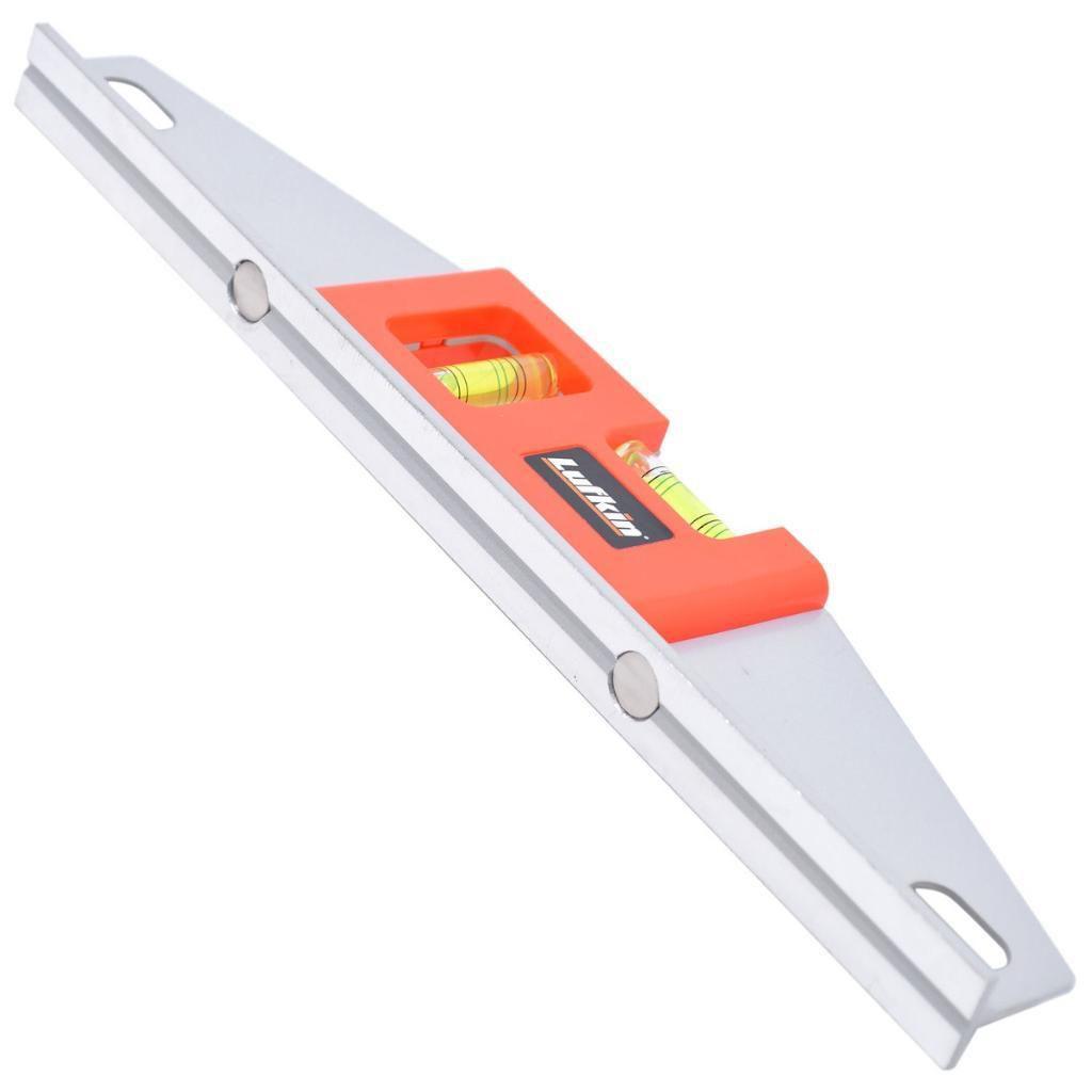 Nível de Alumínio Magnético Profissional Lufkin 14 Pol.
