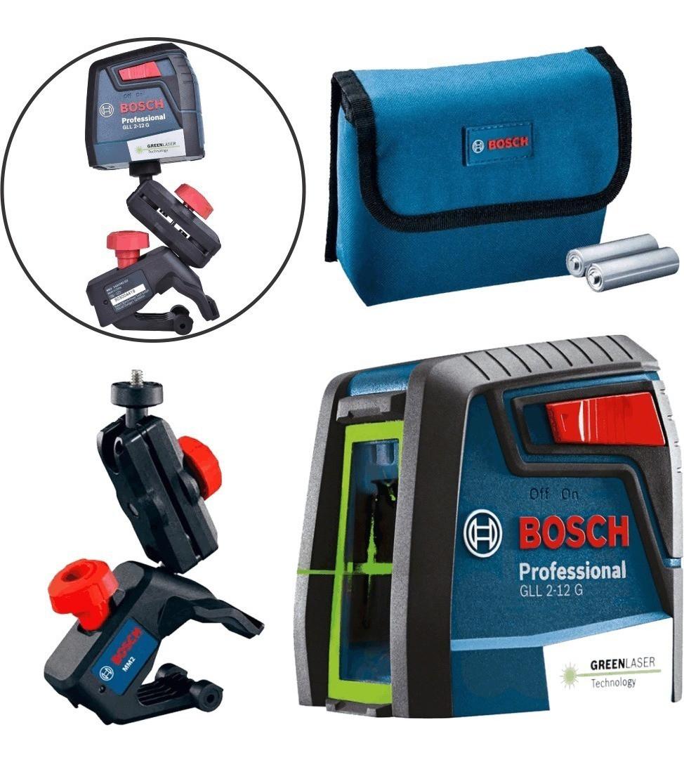 Nível laser de linhas  GLL 2-12 G Professional Bosch