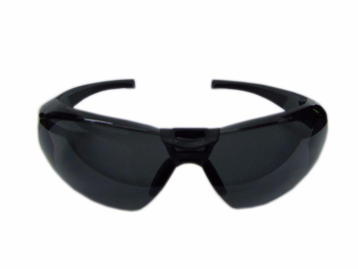 Óculos de Segurança Cayman Sport com Lente Cinza Anti Embaçante – CARBOGRAFITE