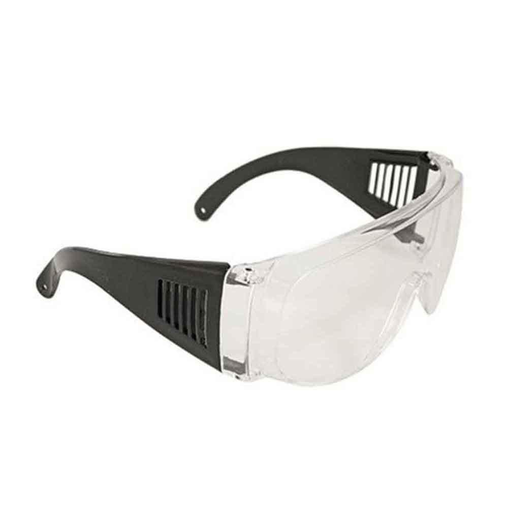 Óculos De Segurança Sobrepor Óculos De Grau (incolor)