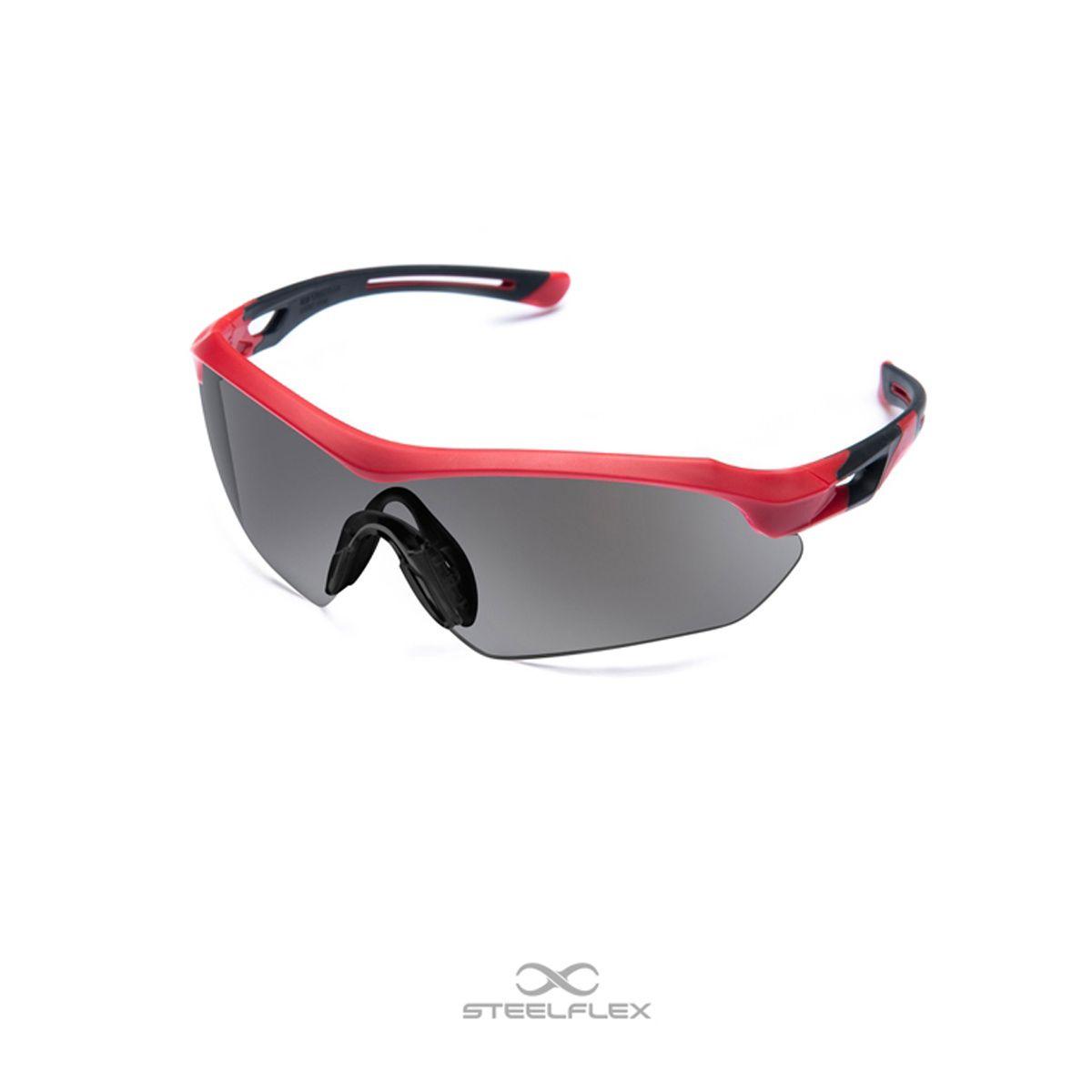 Óculos de Segurança Steelflex FLORENCE – Lente Cinza/Fumê