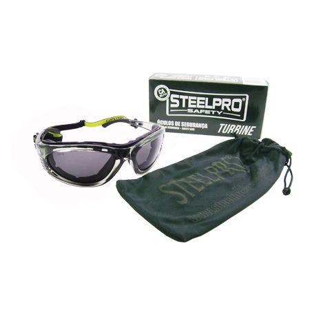 43f2ed953cd7e Óculos De Segurança Turbine Fumê Steelpro Vicsa - Compre Ferramentas